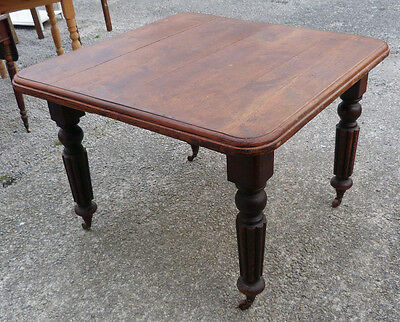 Solid pine Kitchen / Dining Table Extra Leaf Winding Mechanism