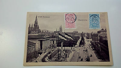 Austria Cover 1918 Wien Berlin -- Check Other Post Letter Card Items