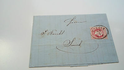Austria Cover 1868 Wrap Paper  -- Check Other Post Letter Card Items