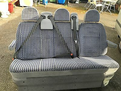 Transit Tourneo 3 Seater Bench Incl Belts And Brackets