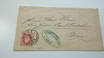 Austria Cover 1869 Wien -- Check Other Post Letter Card Items