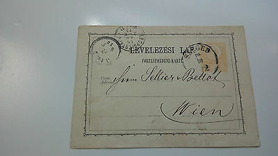 Austria Cover 1872 Wien -- Check Other Post Letter Card Items