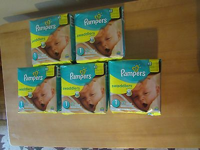 Pampers Diapers Lot Size 1
