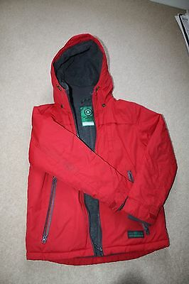 Boys Red Winter Coat, age 10, Next