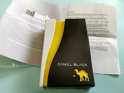 CAMEL BLACK CIGARETTES LIGHTER PROMOTIONAL with GUARANTEE FREE SHIPPING