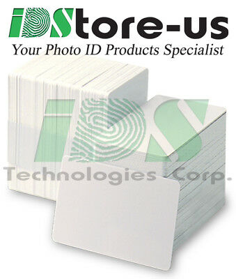 200 Blank White PVC Cards - CR80, 30 Mil, Credit Card Size, ***Free Shipping***