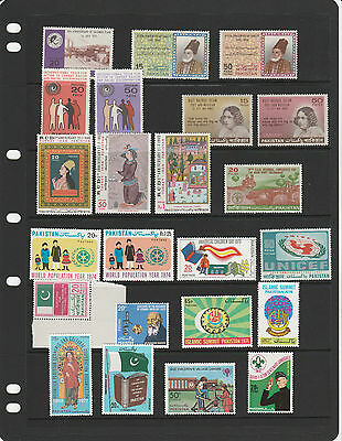 PAKISTAN,1960s/70s collection of sets / issues MINT NH