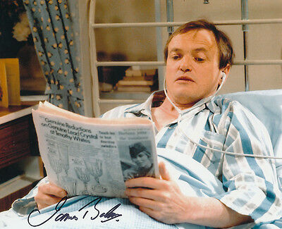 James Bolam In Person Signed Photo - B300 - Only When I Laugh