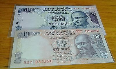 Lote India 50, 10 rupees