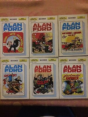 Lotto Alan Ford Serie Ventennale