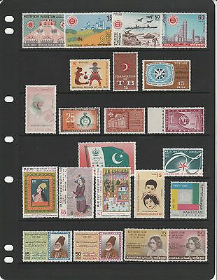 PAKISTAN,1960s collection of sets / issues MINT NH