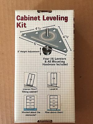 New Do-able Products Cabinet Leveling Kit