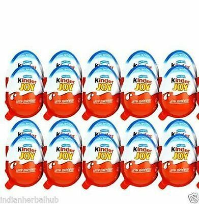 18 x Kinder JOY Surprise Eggs,   Choclate Best Gift Toys - For BOY free shipping