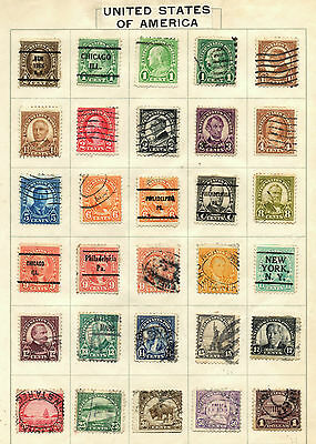 Old Stamp collection from USA