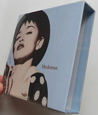 Madonna The Immaculate Collection  Empty Box For Japan Mini Lp Cd ****