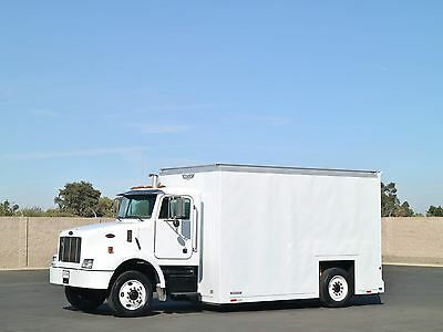2003 Peterbilt 330 Low Floor Axeless 16' Box Truck - NO CDL REQ!