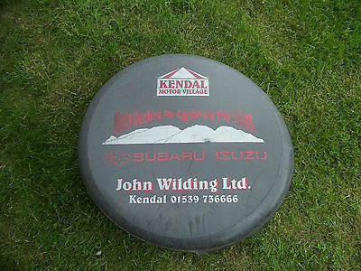 "Spare Wheel Cover Semi Rigid Isuzu Trooper 30"" Discovery 4 x 4 ? Toyota"