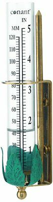 CONANT VRG1LFB Vermont Rain Gauge Living Finish Brass