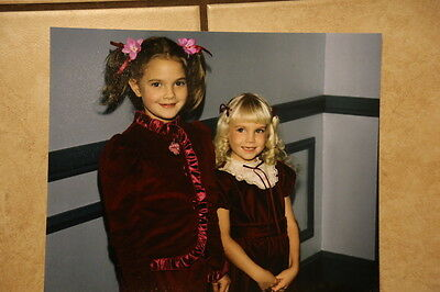 Heather O'Rourke and Drew Barrymore photo RARE!