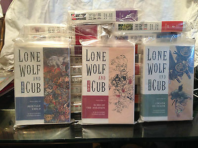 Lone Wolf And Cub - Volumes 1-22