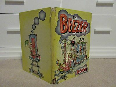 The BEEZER BOOK Annual - Year 1962 - D.C THOMSON-RARE-DANDY/BEANO