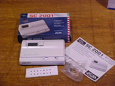 New In Box Icm Controls Simple Comfort Non-Programmable Thermostat Sc2001