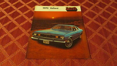 Canadian Market 1970 Plymouth Valiant Sales Brochure