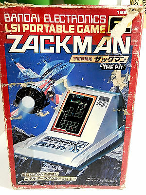 Bandai FL LSI Tabletop Game Zackman Boxed Made in Japan Great Condition