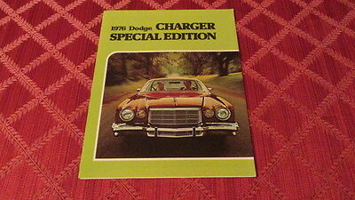Canadian Market 1976 Dodge Charger Special Edition Sales Brochure