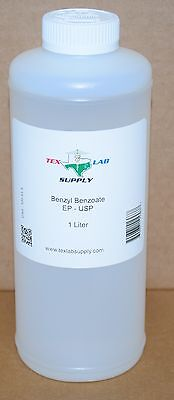 Tex Lab Supply Benzyl Benzoate NF-FCC/EP-USP 1 Liter