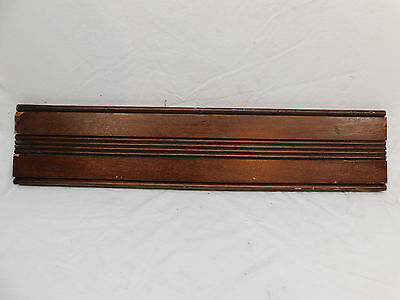 Antique Victorian Door Casing Trim - C. 1885 Butternut Architectural Salvage
