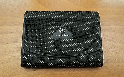 Mercedes A / C / E / ML / S Class Handbook / Owners Manual Wallet - Genuine