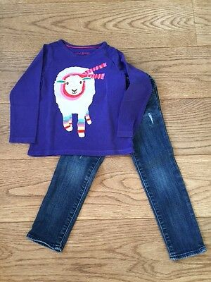 Girls bundle Boden top 2-3 yrs and Gap jeans age 4