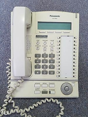 Panasonic KX-T7633-W White 24 Button Digital Display Phone A-Stock Refurbished