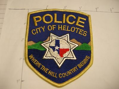 Helotes Police Dept Hpd Helo Mill Country City State Shape Colorful Texas Patch