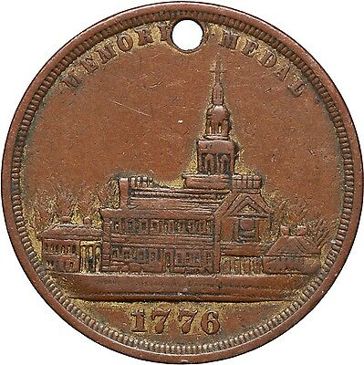 Struck Within the International Exhibition 1876, medal USA