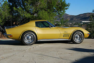 1972 Chevrolet Corvette Base Coupe California car.  Second owner.