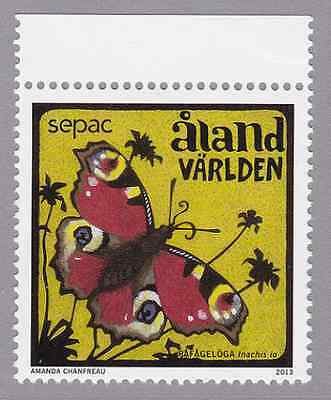 ALAND - 2013 - SEPAC: Butterfly. Individual stamp, 1v. Mint NH