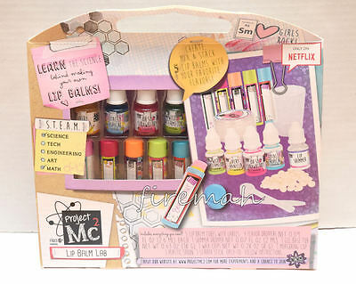 New Project Mc2 Create Your Own Lip Balm Lab Kit
