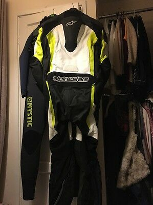alpinestars leathers one piece