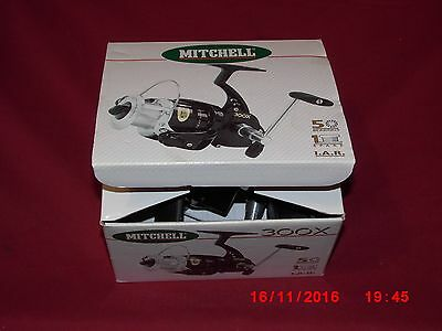 Boxed Mitchell 300X  Spinning Reel.
