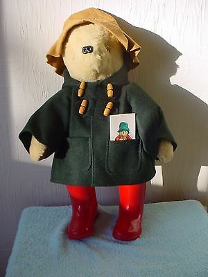 Paddington Bear - Large Size 20 inches (51cm) Tall  - Pristine Condition