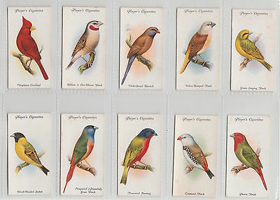Player Set: Aviary An Cage Birds 1933