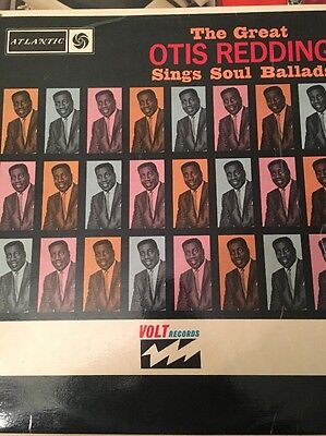The Great Otis Redding-sings Soul Ballads -Uk Atlantic Record