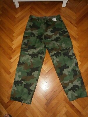 Federal Yugoslav Army (1992-2006) M-93 camouflage pants