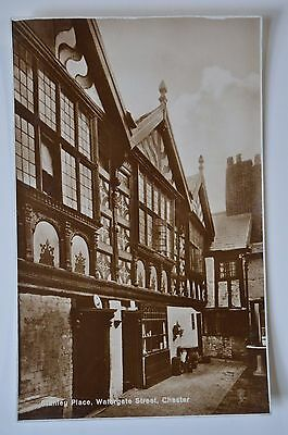 Stanley Place Watergate Street Chester Postcard