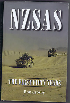 OFFICIAL HISTORY Book SAS New Zealand Special Air Service Regiment NZ S.A.S.