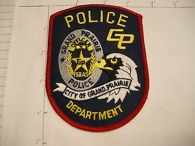 Grand Prairie Police Dept Gppd Officer Bald Eagle Star City Colorful Texas Patch