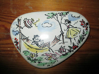 VINTAGE Retro Kitsch 1950's Ceramic Wall Hanging/Plaque