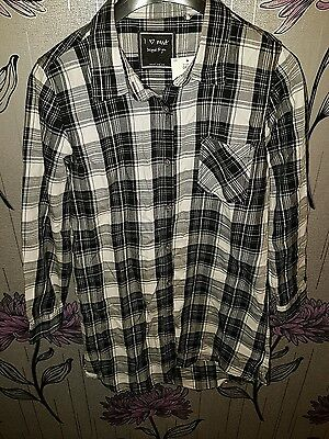 New With Tags Age 10 Years Next Long Check Shirt